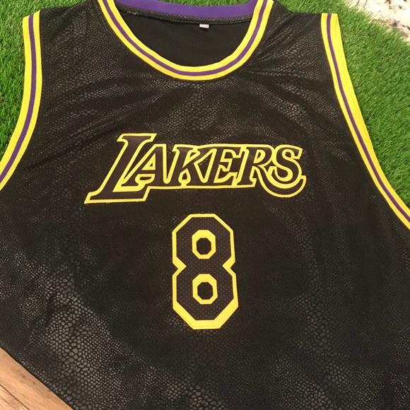Shirts | Kobe Bryant Black Mamba Jersey 5xl | Poshmark